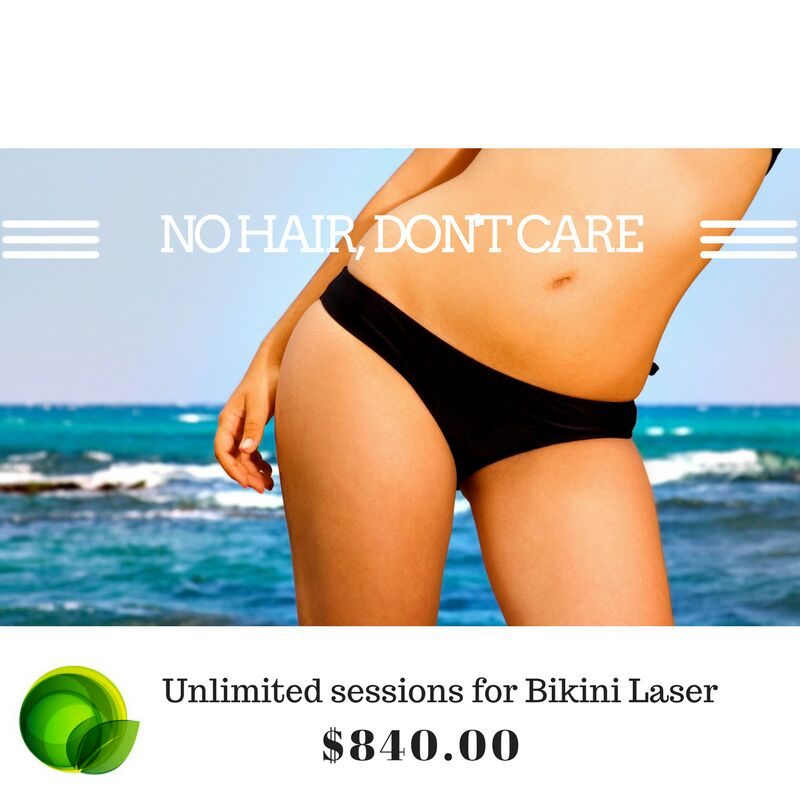 Laser Hair Removal on Bikini area