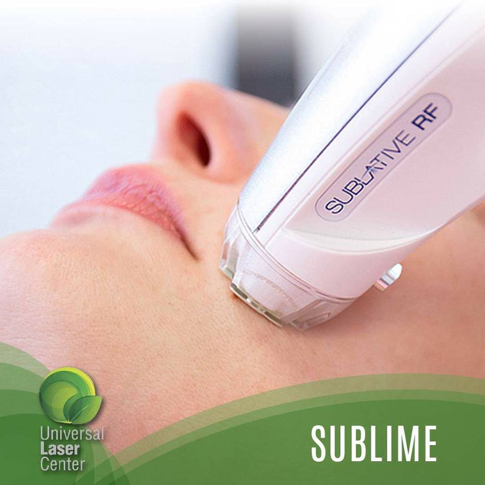 Sublime a rejuvenation treatment at Universal Laser Center