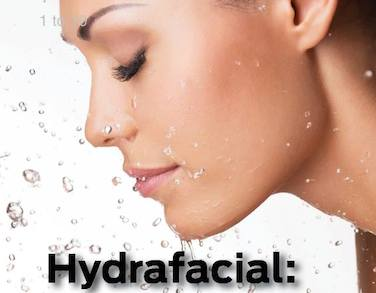 Hydrafacial a microdermabrasion technique