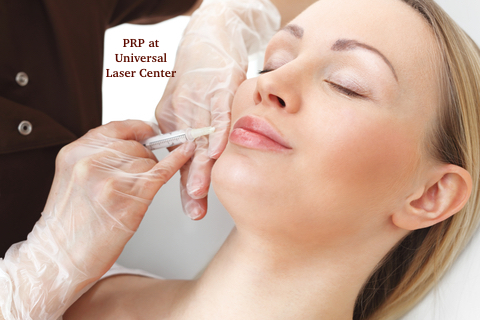 PRP treatment at Universal Laser Center in Miami